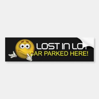 TEE Lost in Lot Bumper Sticker