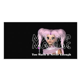 TEE Makeup Maniac Personalized Photo Card