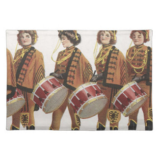 TEE Marching Band Fan Placemat