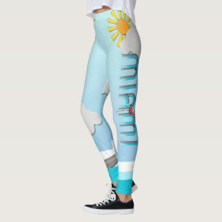 TEE Miami Leggings
