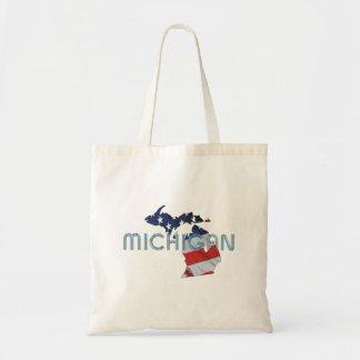 TEE Michigan Patriot Tote Bag