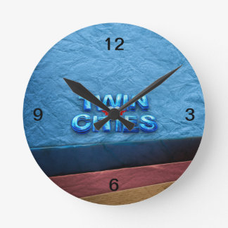 TEE Minneapolis Round Clock