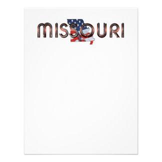 TEE Missouri Patriot Custom Announcement