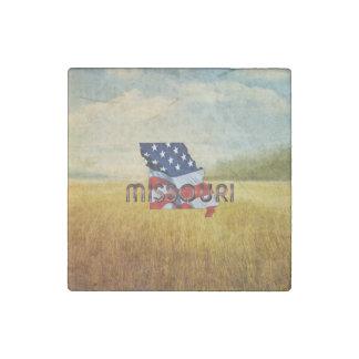 TEE Missouri Patriot Stone Magnet