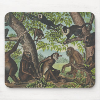 TEE Monkey Mayhem Mouse Pad