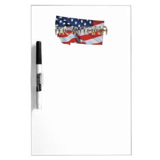 TEE Montana Patriot Dry Erase Board