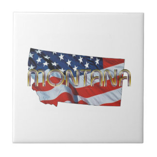 TEE Montana Patriot Tile