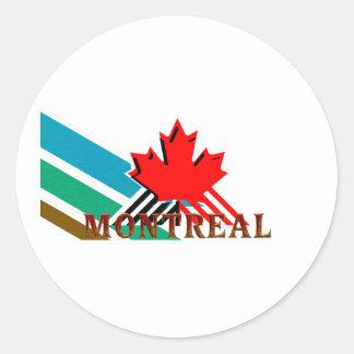 TEE Montreal Classic Round Sticker