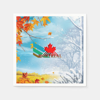 TEE Montreal Paper Napkin