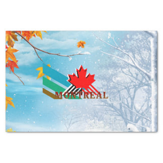 TEE Montreal Tissue Paper
