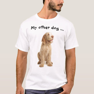"Tee - ""My other dog's a Spinone too!"""