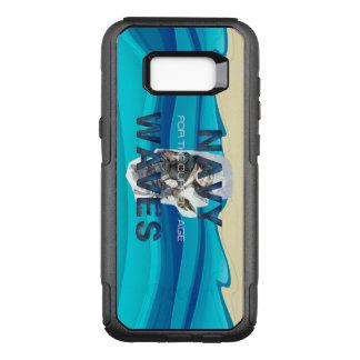 TEE Navy Waves OtterBox Commuter Samsung Galaxy S8+ Case