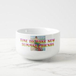 TEE New Summer Friends Soup Mug