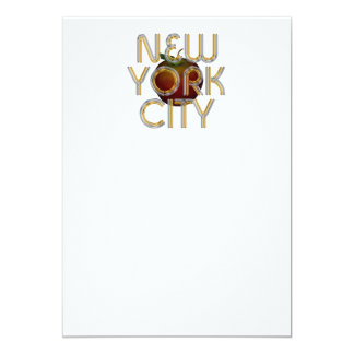TEE New York City 13 Cm X 18 Cm Invitation Card