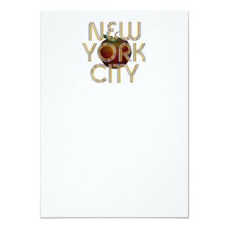 TEE New York City 13 Cm X 18 Cm Invitation Card