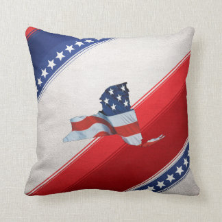 TEE New York Patriot Cushion