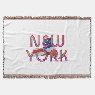 TEE New York Patriot Throw Blanket