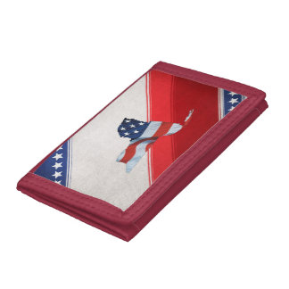 TEE New York Patriot Trifold Wallets