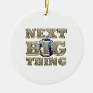 TEE Next Big Thing Ceramic Ornament