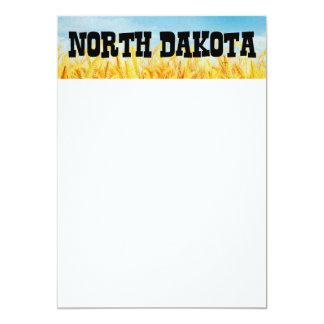 TEE North Dakota 13 Cm X 18 Cm Invitation Card