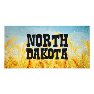 TEE North Dakota Personalized Photo Card