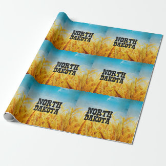 TEE North Dakota Wrapping Paper