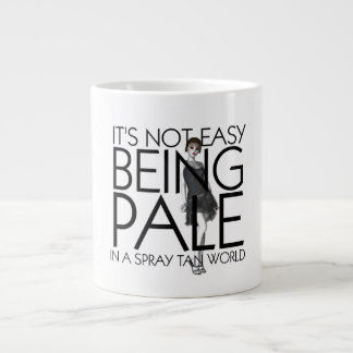TEE Not Easy Being Pale Large Coffee Mug