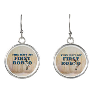 TEE Not My First Rodeo Earrings