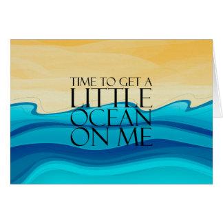 TEE Ocean of Me Card