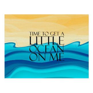 TEE Ocean of Me Postcard