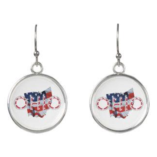 TEE Ohio Patriot Earrings