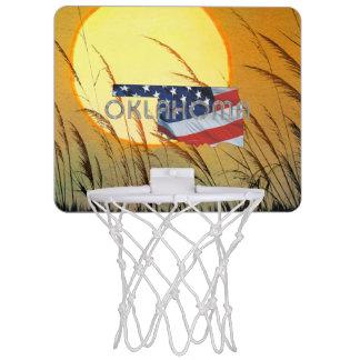 TEE Oklahoma Patriot Mini Basketball Hoop