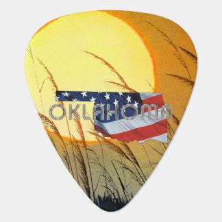 TEE Oklahoma Patriot Plectrum