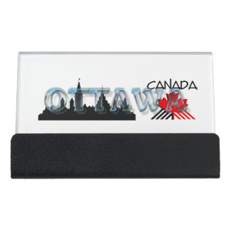 TEE Ottawa Desk Business Card Holder