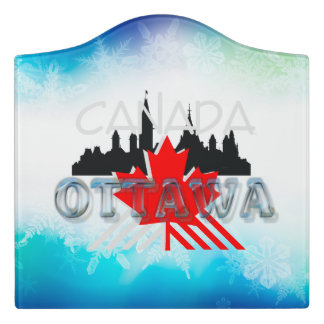 TEE Ottawa Door Sign