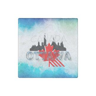 TEE Ottawa Stone Magnet