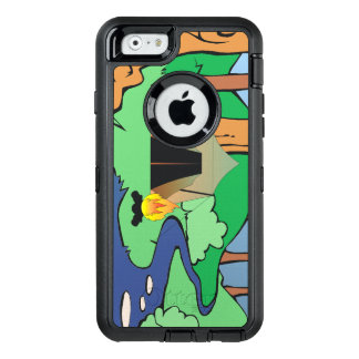 TEE Outdoors Bound OtterBox Defender iPhone Case