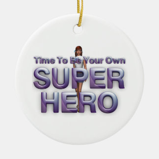 TEE Own Superhero Ceramic Ornament