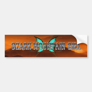 TEE Ozark Mountain Girl Bumper Sticker