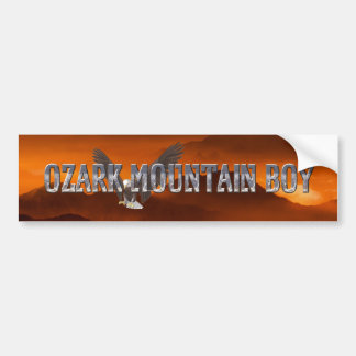 TEE Ozark Mountain Man Bumper Sticker