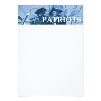 TEE Patriots 13 Cm X 18 Cm Invitation Card
