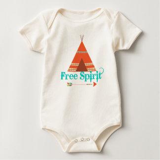 Tee Pee Free Spirit Bodysuit