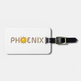 TEE Phoenix Luggage Tag
