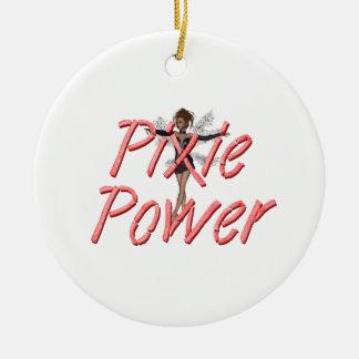 TEE Pixie Power Ceramic Ornament