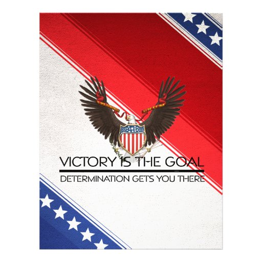 TEE Political Victory Slogan Personalized Flyer