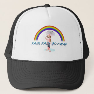 TEE Rain Go Away Trucker Hat