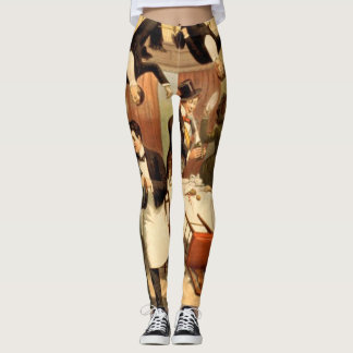TEE Restaurant Shenanigans Leggings