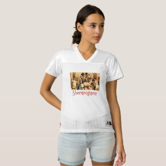 TEE Restaurant Shenanigans Women's Football Jersey