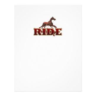 TEE Ride 21.5 Cm X 28 Cm Flyer
