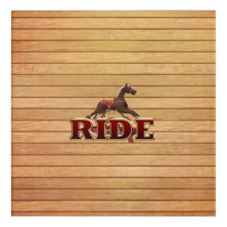 TEE Ride Acrylic Print